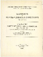 Report of the North-Western Area Committee for 1924 and 1925. Raport et proces-verbaux des reunions. 39