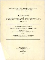 Scientific report of the North-Western Area Committee for 1926-27. Raport et proces-verbaux des reunions. 57