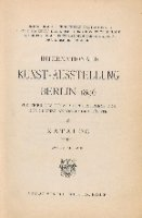 Internationale Kunst-Ausstellung Berlin 1896